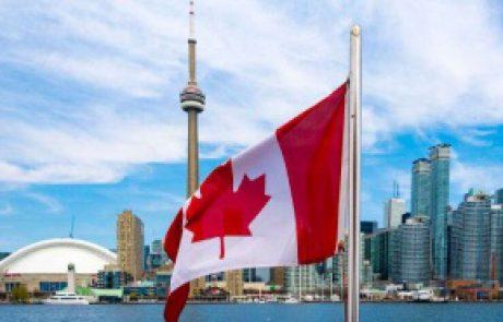 این تصویری از کشور کانادا و پرچم آن هست.